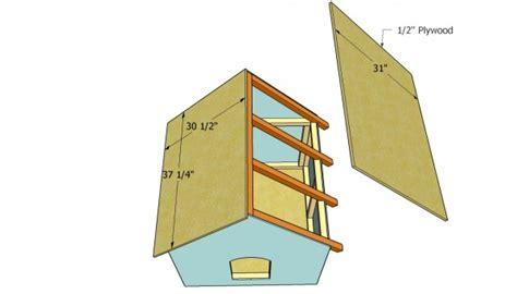 one sheet plywood dog house 1 sheet plywood dog house plans