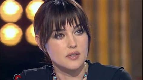 monica bellucci james bond interview monica bellucci interview youtube