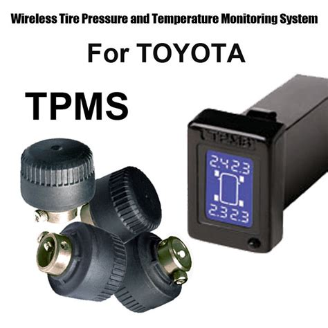 aliexpress com buy wireless tire pressure monitoring system car tpms for toyota with 4pcs