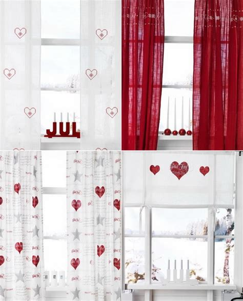 decori per tende i trend per le decorazioni di natale per la casa casa e