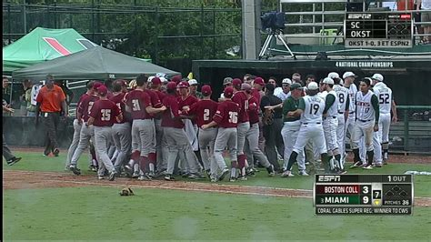 baseball benches clear bat flip causes benches to clear espn video