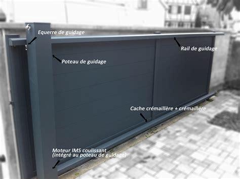 Portail Pas Cher Pvc 3040 by Porte Jardin Aluminium Portail Coulissant Pas Cher Pvc