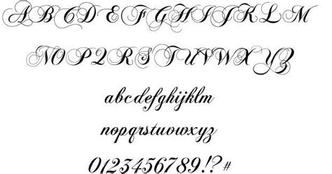 tattoo font exmouth 17 best images about free fonts on pinterest english
