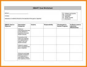 Smart Goals Template 8 smart goals template excel cv for teaching