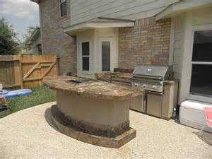 Patio Mini Bar by Outstanding Outdoor Kitchens Backyard Patio With