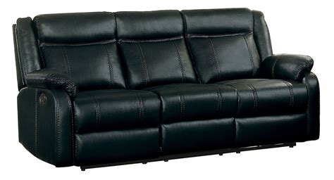 power reclining sofa with drop down black leather reclining sofa with drop down table home