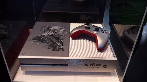 witcher 3 console custom witcher 3 xbox one revealed gamespot