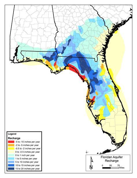 florida aquifer map florida springs institute floridan aquifer