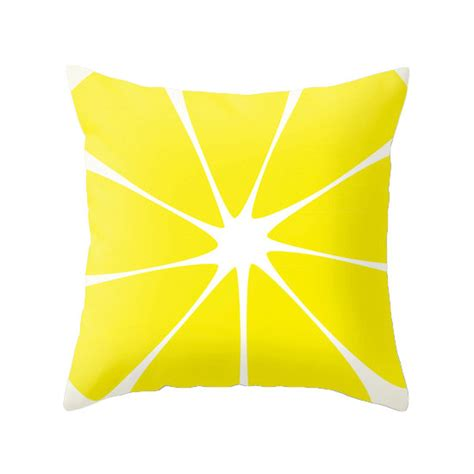 lemon throw pillow cover lemon pillow watermelon cushion