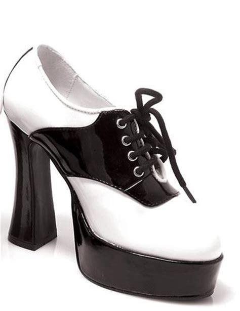 platform saddle shoes ellie 557 saddle costume shoes