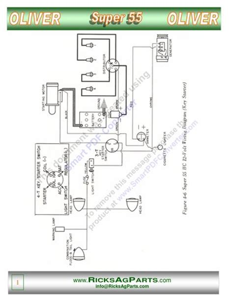 wiring diagram for 12vt generator yesterday s tractors