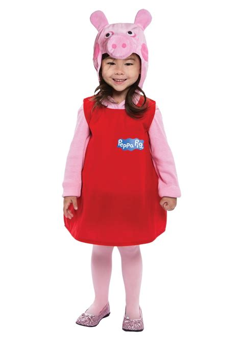 toddler peppa pig dress costume tv show costumes
