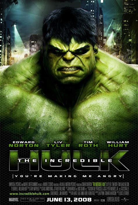 The Incredible Hulk 2008 Film Hulk Rated The Incredible Hulk 2008 Where Would We Be Without Superheros Pinterest