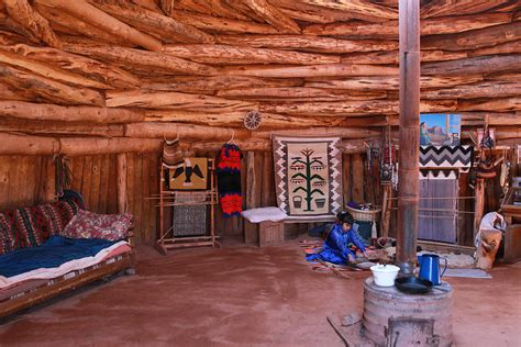 New American House Plans inside a navajo home photograph by diane bohna