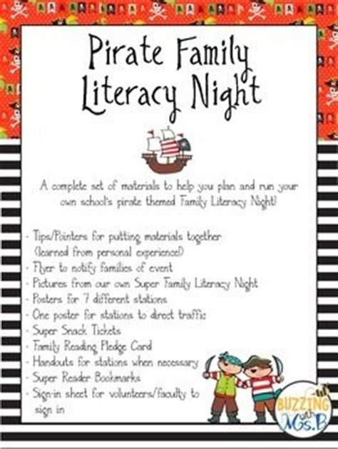 literature themes about family pirate family literacy night pictures of pirates and