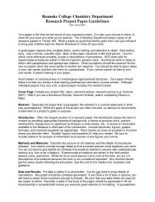 College Research Essay by College Research Paper
