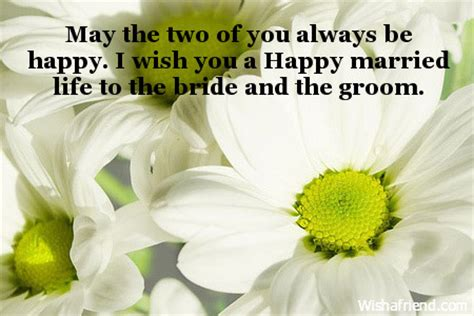 may the two of you always, wedding wishes