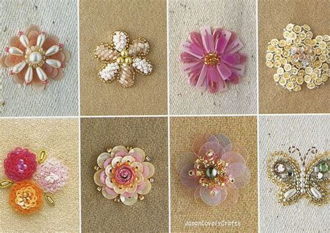 bead embroidery patterns free haute couture motif 100 japanese bead embroidery