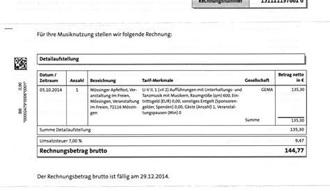 Rechnung Privatperson Aufwandsentschädigung Netzwerk Streuobst M 246 Ssingen Seite 13