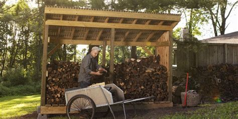 build  firewood shed