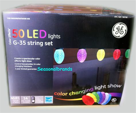 christmas decoration color led 50 ge g35 bulb light string
