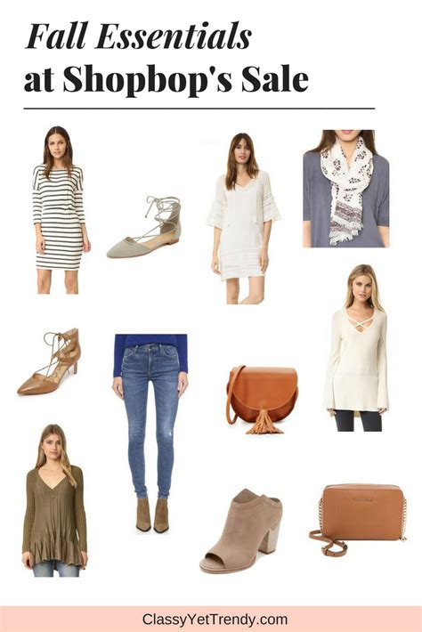 Shopbop Is A Sale by Fall Essentials At Shopbop S Sale Yet Trendy