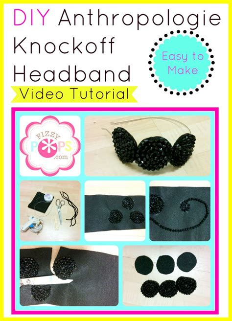 diy anthropologie multitude hair ties tutorial from love u 1000 images about diy hair accessories on pinterest