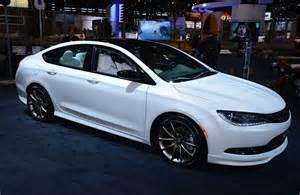 How Much Is The Chrysler 200 2015 Chrysler 200 Gets Mopar Treatment In Chicago Live