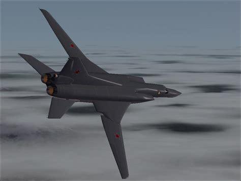 swing wing tupolev tu 22m3 backfire c fs2004