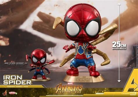 Toys Cosbaby Iron I Metallic Colour Version Bobble the infinity gauntlet got its own infinity war cosbaby bobblehead figure