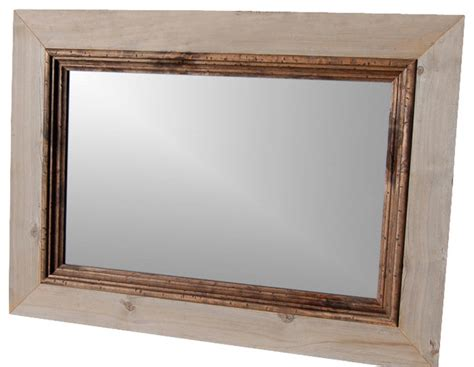 Mirrored Cabin by Rustic Mirror Cabin Mirror With Alder Stepped Molding