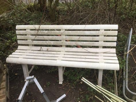 plastic garden bench  sale  uk view  bargains