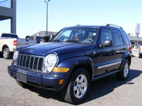 2006 Jeep Liberty Specs 2006 Jeep Liberty Limited 4x4 Data Info And Specs