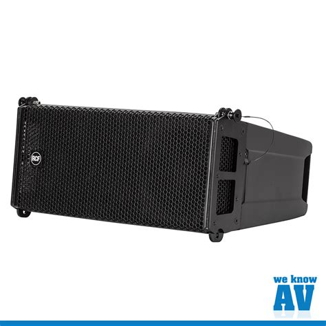 Speaker Line Array Rcf hdl 6a active line array loudspeaker