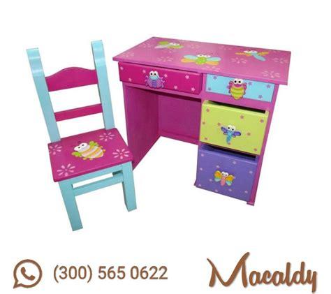 escritorio niña escritorio de madera para ni 241 a 183 macaldy