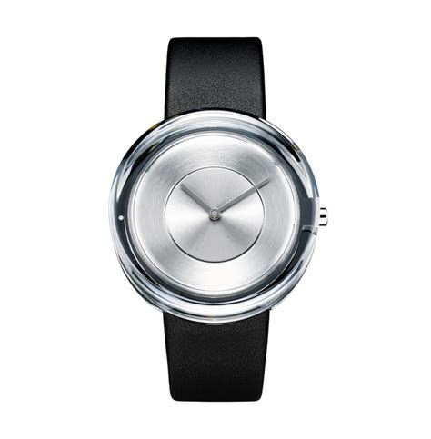 design milk watches tokujin yoshioka designed a glass watch for issey miyake