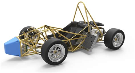 frame design for car warrior racing news