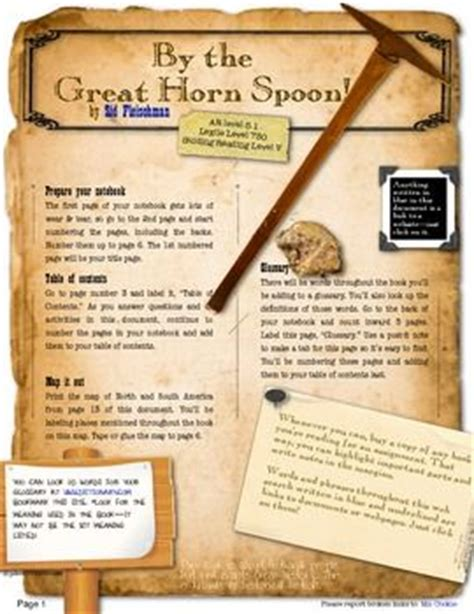 by the great horn spoon book report by the great horn spoon book report 28 images by the
