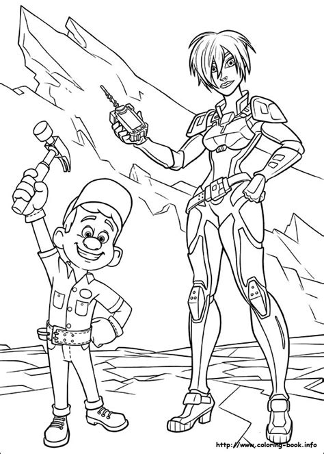 coloring pages wreck it ralph wreck it ralph coloring picture