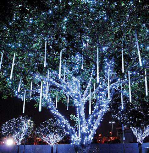 how to a tree with lights outside led outdoor tree lights will give a remarkable look to