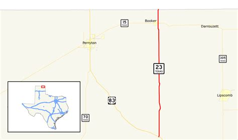 texas department of transportation maps texas state highway 23 wikidata