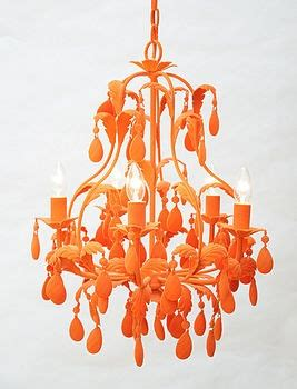 Orange Chandeliers Image Gallery Orange Chandelier