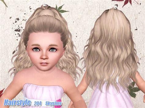 Skysims Hair Child 204 Sims 3 Pinterest Sims | skysims hair toddler 204 the sims 3 pinterest sims