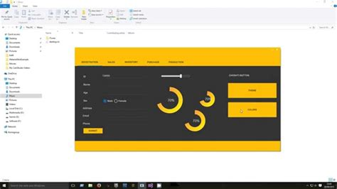best ui pattern for winforms c winform material design youtube