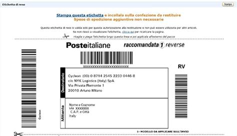 codici ufficio postale