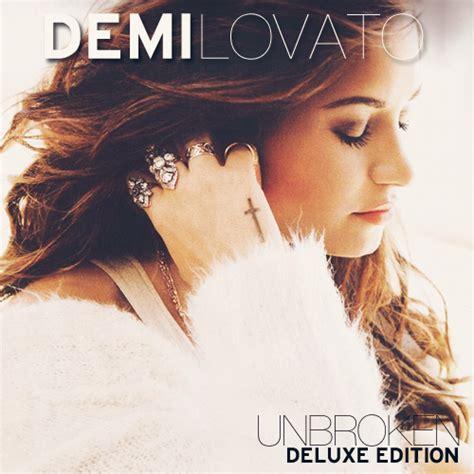 demi lovato unbroken album download demi lovato unbroken deluxe edition by smiler88 on