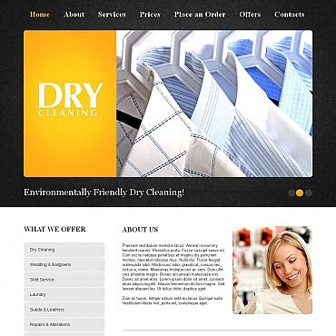 website templates for laundry laundry website template 26246 by wt website templates