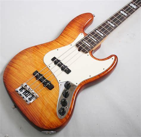 Bass Fender Jazz Sunbers fender select active jazz bass tobacco sunburst