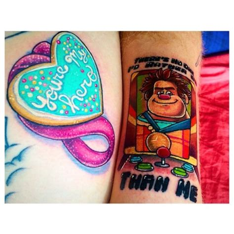 wreck it ralph tattoo there s no one id rather be than me