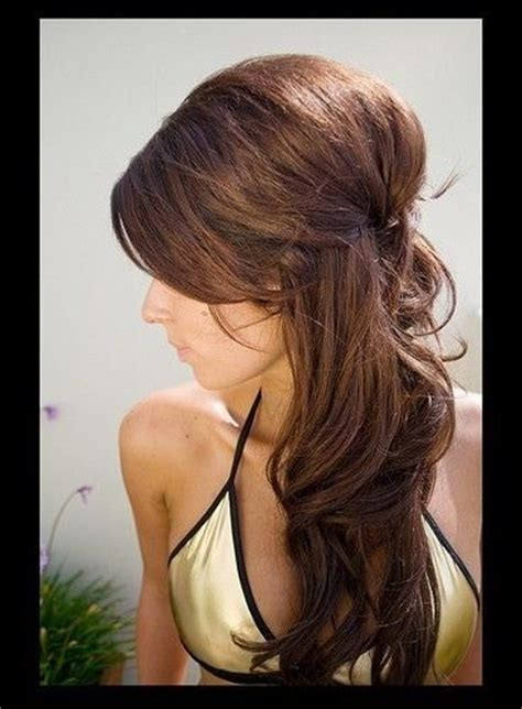 Wedding Hairstyles Brown Hair by 16 Overwhelming Half Up Half Wedding Hairstyles